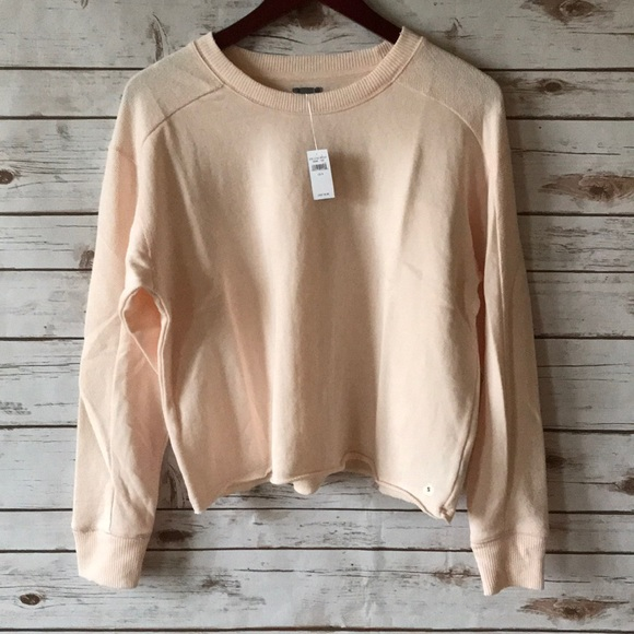 American Eagle Outfitters Tops Aerie Inside Out Beach Fleece